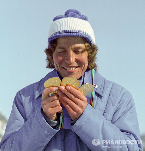 Russia's most decorated Olympic athletes