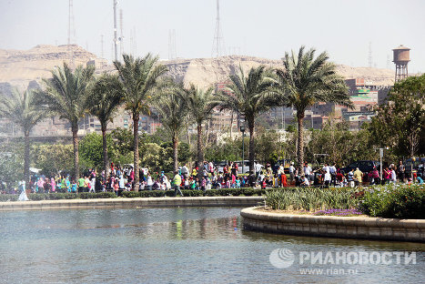 Egypt celebrates the arrival of spring