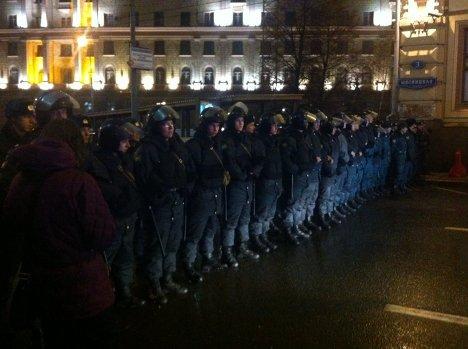 Митинг на Чистых прудах в Москве