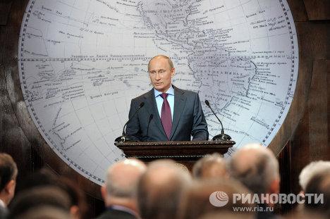 Рабочая поездка Владимира Путина в Санкт-Петербург