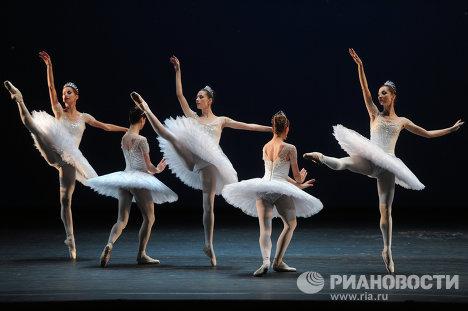Репетиция балета Драгоценности в Большом театре