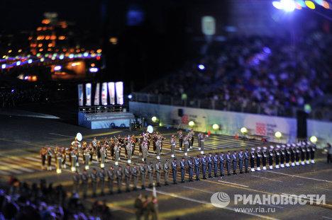 Оркестр и рота почетного караула Войска Польского