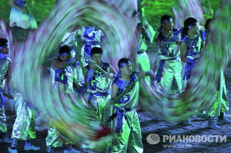 Фольклорный коллектив Чансинский дракон из лотоса (Китай)