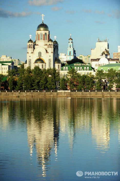 Храм-на-Крови во имя Всех святых, в земле Российской просиявших в Екатеринбурге