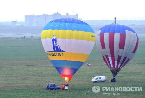 Фестиваль воздухоплавания Земля на ладони - 2012