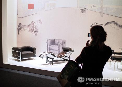 Открытие выставки Ле Корбюзье в Москве