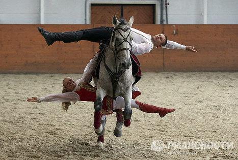 Программа Традиции России Кремлевской школы верховой езды