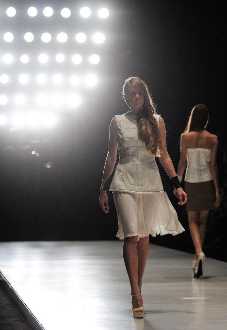 Показ Dasha Gauser в рамках Mercedes-Benz Fashion Week Russia