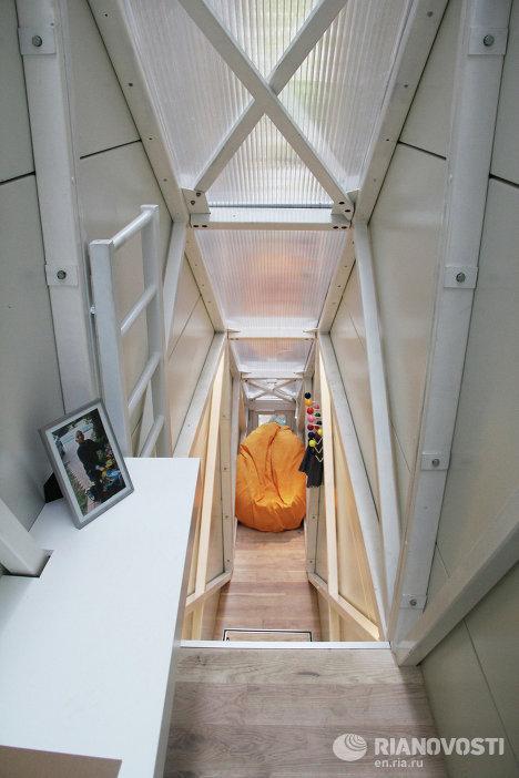 Самый узкий дом в мире по проекту польского архитектора Якуба Щенсны