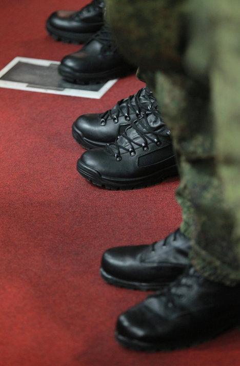 Презентация новой полевой формы для военнослужащих
