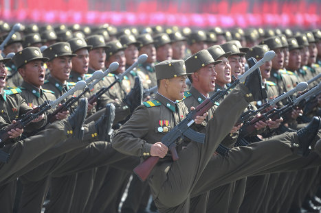 Military parade to celebrate 100 years since the birth of Kim Il Sung