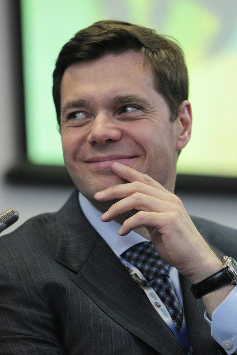 Генеральный директор ОАО Северсталь Алексей Мордашов