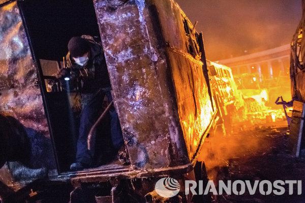 Массовые беспорядки в Киеве