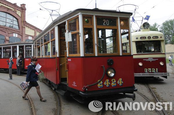 St. Petersburgs Tram Celebrates Its Anniversary - Sputnik