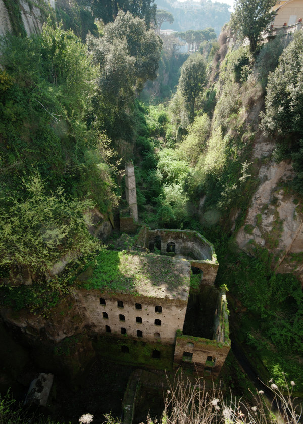 Deep Valley of the Mills in Sorrento.