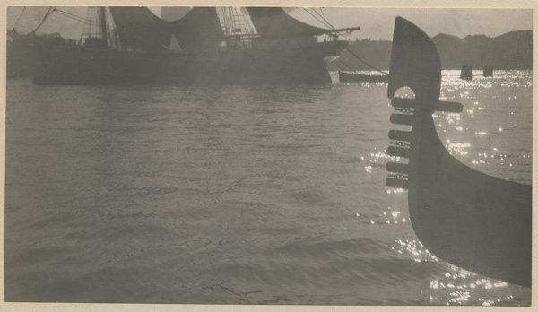 Юрий Еремин Ветер в Венеции. 1910 Серебряно-желатиновый отпечаток