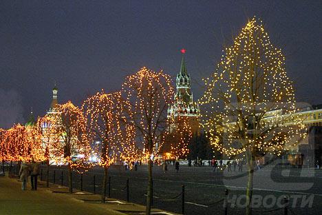 Red Square: different scenes
