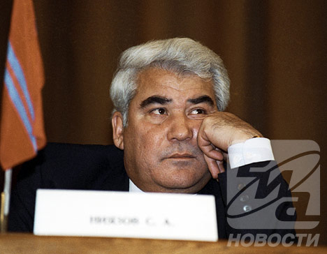 President of Turkmenistan Saparmurat Niyazov (1940 – 2006)