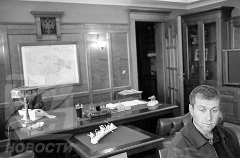 Roman Abramovich, governor of Chukotka and owner of Chelsea Football Club