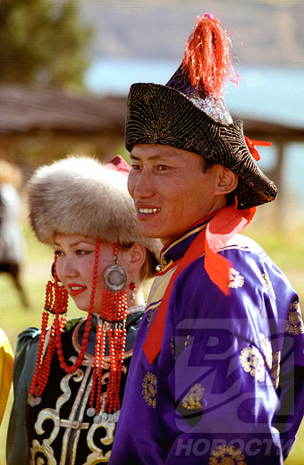 National costumes of Russia's ethnic groups