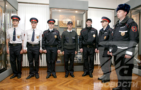 New Uniforms for Russian police