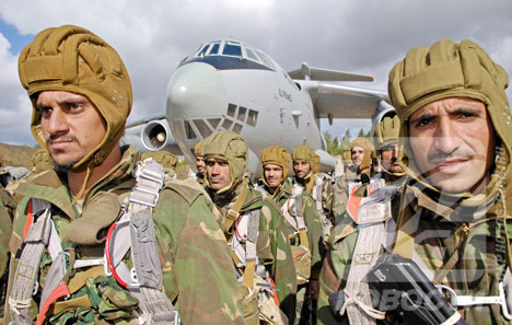Joint Russian-Indian counter-terrorist exercise INDRA-2007