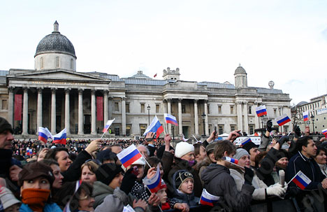 Russian Winter In London According 8
