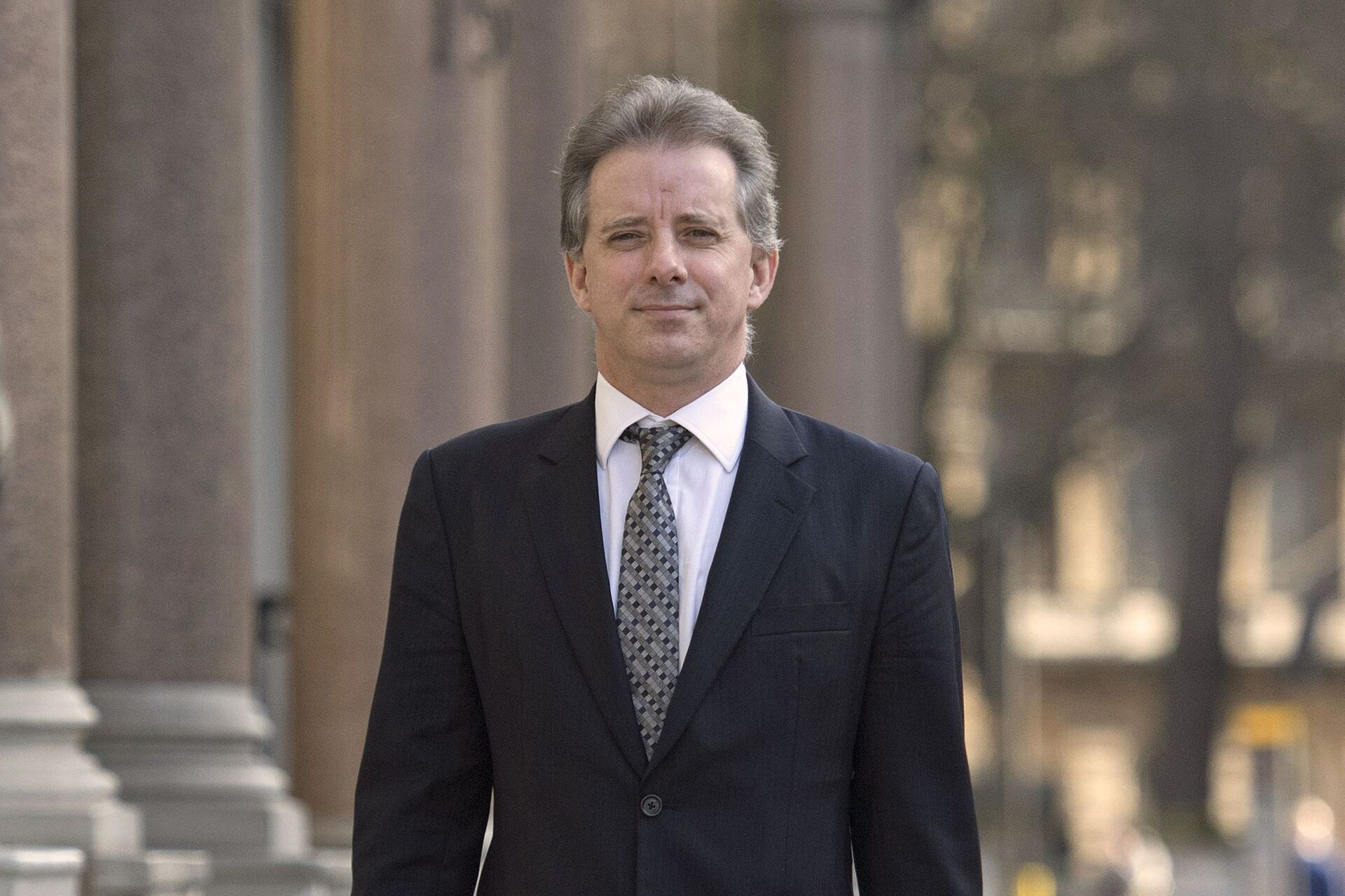 FILE - This Tuesday, March 7, 2017 file photo shows Christopher Steele, the former MI6 agent who set up Orbis Business Intelligence and compiled a dossier on Donald Trump, in London - Sputnik International, 1920, 07.09.2021