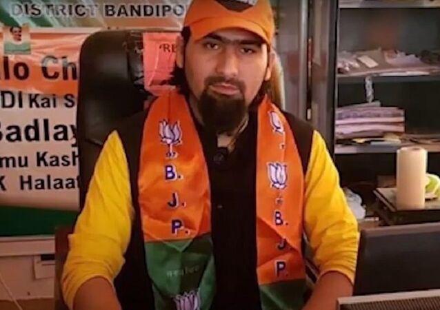 Bharatiya Janata Party leader Wasim Bari