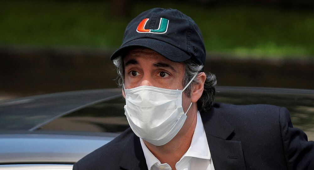 Michael Cohen, the former lawyer for U.S. President Donald Trump, arrives back at home after being released from prison during the outbreak of the coronavirus disease (COVID-19) in New York City, New York, U.S., May 21, 2020