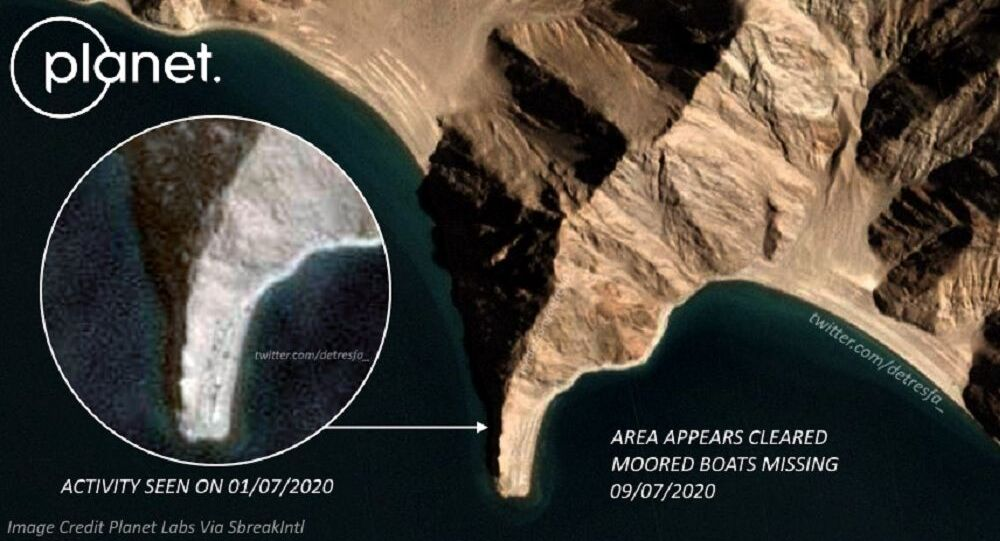 Images of the foxhole point at  PangongTso show early signs of troop withdrawal
