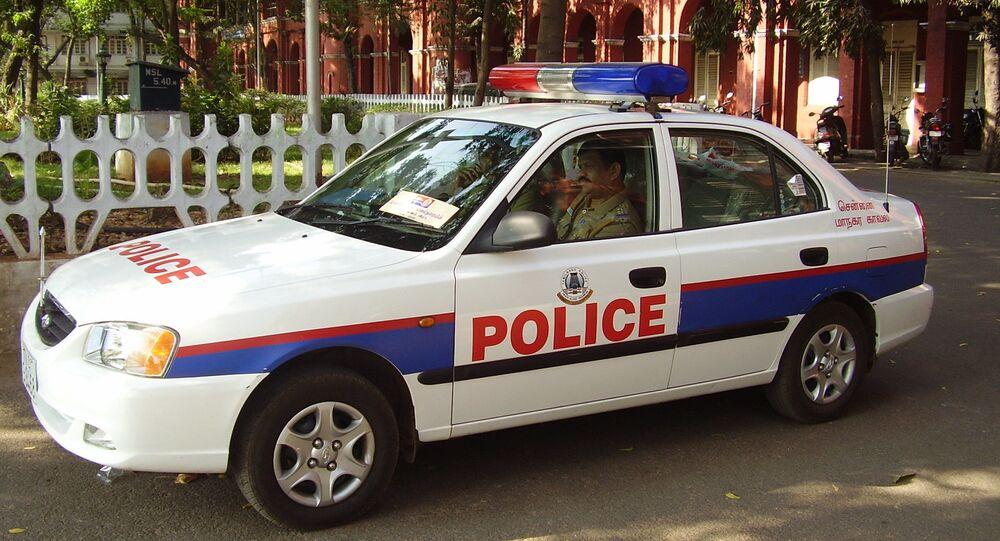 Indian police car
