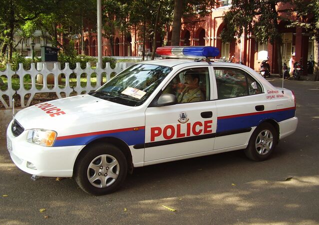 Indian police car