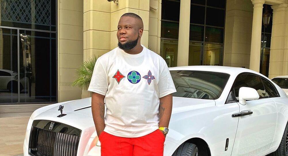 Nigerian influencer Ray Hushpuppi