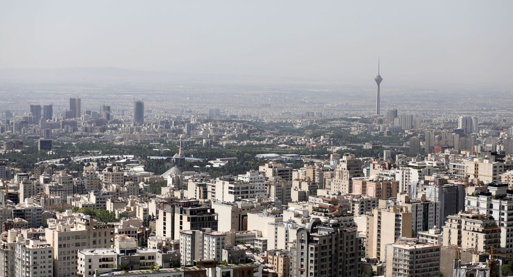 A general view of Tehran city