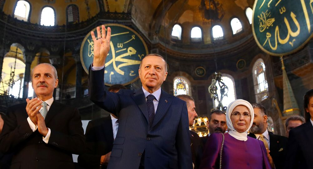 Pope joins criticism of Turkey turning Hagia Sophia into mosque