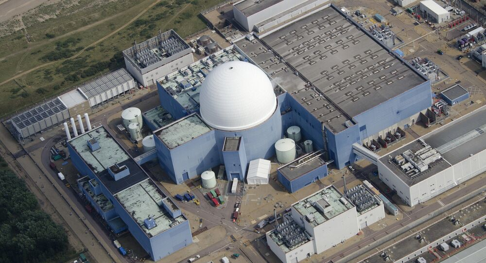 Sizewell B Nuclear Power Station in the UK. File photo