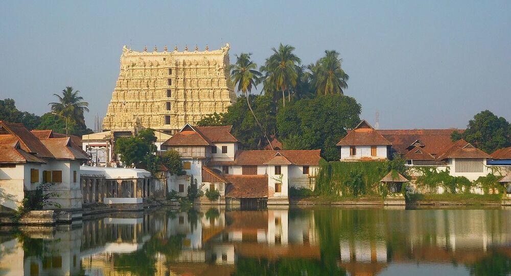 Sri Ananta Padmanābhasvāmi Temple in Thiruvananthapuram, Kerala, India
