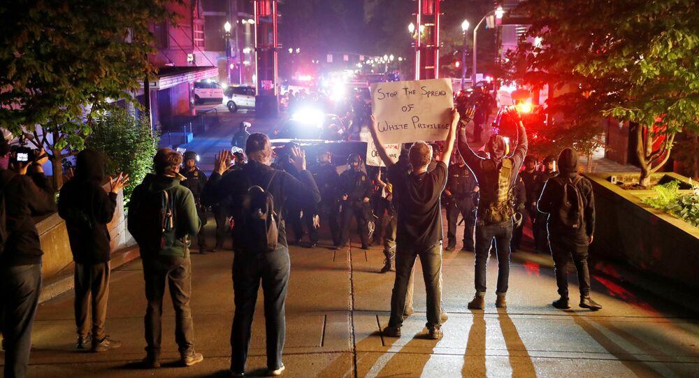 U.S. Marshals investigate shooting at Portland protest