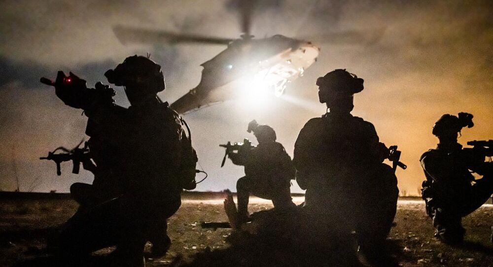 Shaldag commando unit soldiers