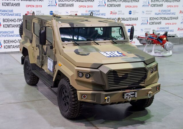Light armoured car Strela