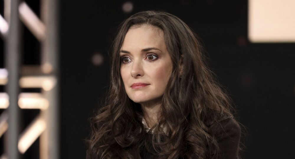 Winona Ryder appears at the The Plot Against America panel during the HBO TCA 2020 Winter Press Tour at the Langham Huntington on Wednesday, Jan. 15, 2020, in Pasadena, Calif