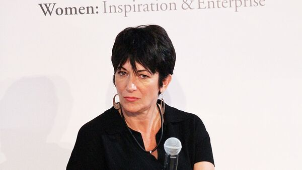 NEW YORK, NY - SEPTEMBER 20: Ghislaine Maxwell attends day 1 of the 4th Annual WIE Symposium at Center 548 on September 20, 2013 in New York City.  - Sputnik International