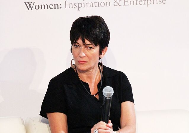 NEW YORK, NY - SEPTEMBER 20: Ghislaine Maxwell attends day 1 of the 4th Annual WIE Symposium at Center 548 on September 20, 2013 in New York City.