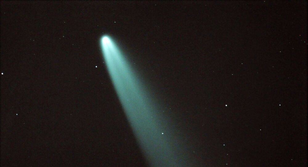 Comet Neowise, observed on July 09, 2020 as recorded by Raman Madhira from Ray's Astrophotography Observatory