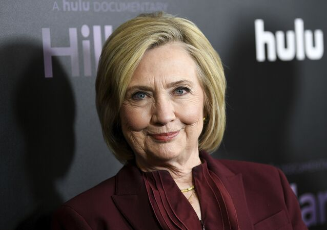 Former secretary of state Hillary Clinton attends the premiere of the Hulu documentary Hillary at the DGA New York Theater on Wednesday, 4 March 2020, in New York