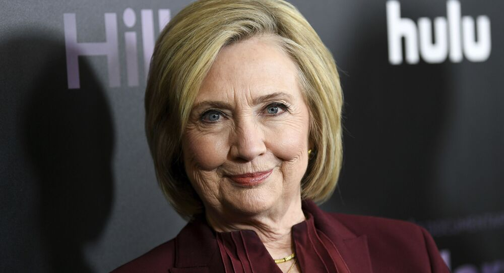 Former secretary of state Hillary Clinton attends the premiere of the Hulu documentary Hillary at the DGA New York Theater on Wednesday, March 4, 2020, in New York