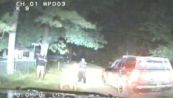 Newly released dash camera footage offers renewed insight into the fatal arrest of Jared Lakey, who died after officers with Oklahoma's Wilson Police Department deployed their stun guns more than 50 times to subdue him. - Sputnik International