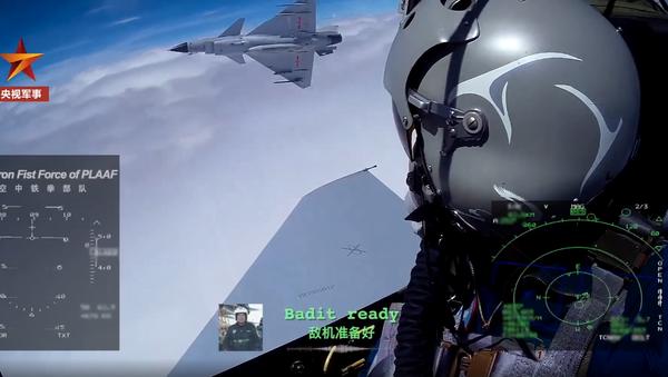 J-10 dogfight with pilots communicating in English - Sputnik International