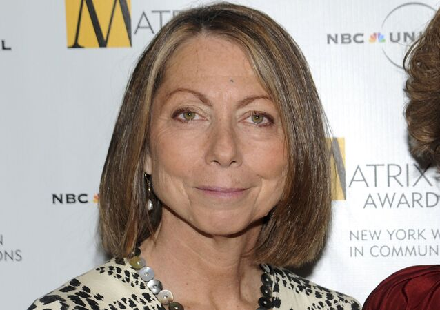 In this April 19, 2010, file photo, Jill Abramson attends the 2010 Matrix Awards presented by the New York Women in Communications at the Waldorf-Astoria Hotel in New York. Abramson, the former editor of The New York Times, says that Fox News took her criticism of the newspaper's Trump coverage totally out of context in a story that appeared Wednesday, Jan. 2, 2019